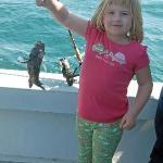 5yo fishing fun