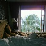 The morning sun entering to my bed
