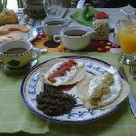 Rosa´s wonderful breakfast