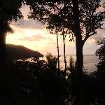 Sunset from Beach Club