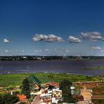 Puente Posadas / Encarnación (Paraguay), río Paraná.