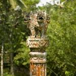 Ashoka Pillar; replica from 1900s Owners