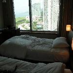 View, twin room, executive floor