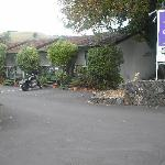 Siesta motel (and my bike!)