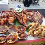 Jimbaran Bay Barbecue Seafood set.