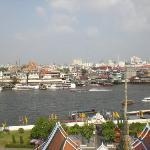 Blick vom Wat Arun......