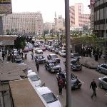 Ciudad de El Cairo, vista desde el hostel