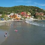 Playa La Madera Beach, about 10 minute walk from hotel