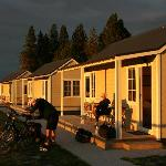 Wedderburn Cottages at sunrise