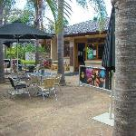 Cafe by pool area