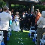Beautiful wedding at english inn