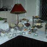 Buffet at reception