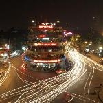 Hanoi from Illy Cafe rooftop bar
