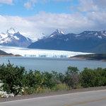 prima foto dal pulmino del Perito Moreno