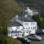 Hotel overlooking the valley