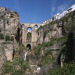 View of Ronda's 'new bridge'
