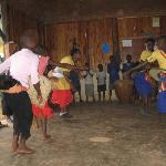 Buhoma Village; some of the children at the orphanage school