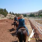 horseback riding in the high desert!