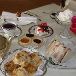 Delicious Food at The Channel Bass Inn Bed and Breakfast & Tea Room