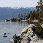 This is Lake Tahoe, CA Spring, 2008