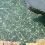 Clean water, I could see fishes swiming -  Kalamata, Greece