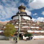 Kloster Balkor und Kumbum (Stupa)