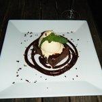 chocolate pistachio brownie