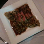 Duck with mushrooms and rice... wonderful
