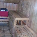 Sauna in Red Room