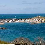 View of St Ives from the Raffles Suite