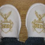 Monogrammed slippers!