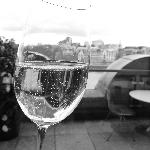 Champers and a view - perfect!!
