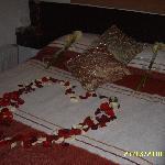 Decoracion de la cama