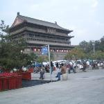 종루 근처의 drum tower.
