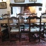 Dining Room with 17th C furniture