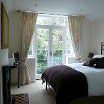 Turnstones double bedroom with Juliette balcony