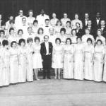 PSChoir at the Civic Auditorium (now the Keller) in 1966 - Frank Holman, conductor