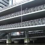 3 story bicycle parking station, Amsterdam