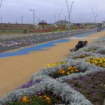 Sea-Front: Block-paving in the shape of waves!!!