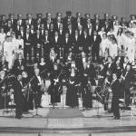 November 1974  David Wilson conducting