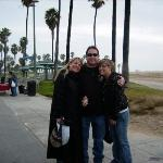 Wendy, Gregg & Brittany McAfee Brittany moved to Iowa 2009 Santa Monica, CA - trip to CALI to