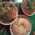 The wonderful soups and lovely bread