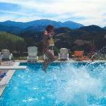 La piscine et sa vue...