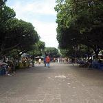 photo de l'extrémité sud du cour de la révolution