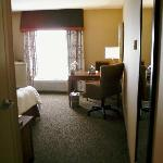 View into room from door