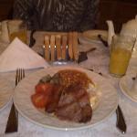 la ricca colazione