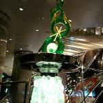 Spun sugar sculpture at Jean-Philippe Patisserie in ARIA at CityCenter