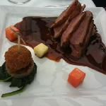 Duck with foie gras and rilette