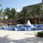 More built in pool chairs . . . strategically located next to the beverage center (aka bar)