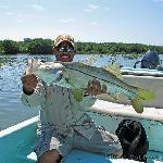Guide, Arthur, holds my snook